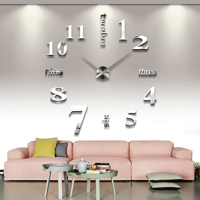 MQ005 DIY 3D Wall Clock