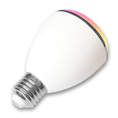 BL08A Smart Bluetooth 4.0 Music Speaker Lamp LED Bulb E27 Intelligent Light Holiday Party Decoration Gift