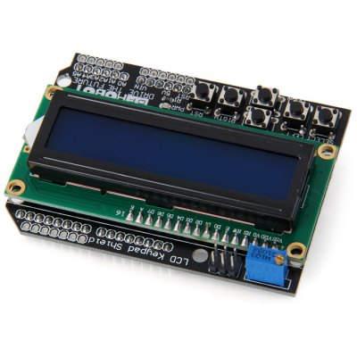 LCD1602 Character LCD Keypad Shield V1.0 for Arduino DIY Projects