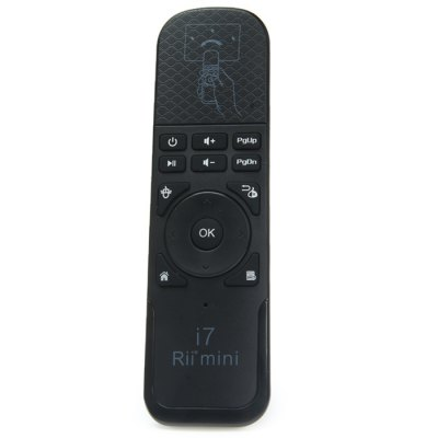 Rii i7 Handheld 2.4GHz Wireless Mouse Remote Control Support Windows XP Vista 7 8 Linux Mac