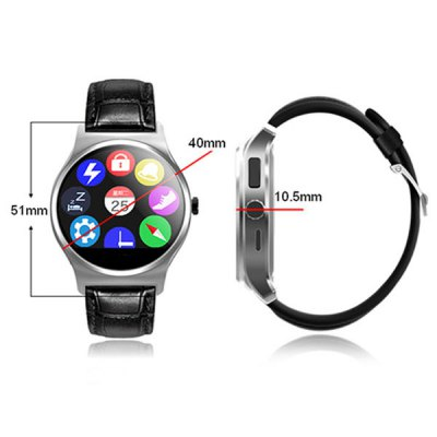 RWATCH R11 Smart Infrared Remote Controller Heart Rate Monitor WatchSmart Watches<br>RWATCH R11 Smart Infrared Remote Controller Heart Rate Monitor Watch<br><br>Brand: Rwatch<br>Built-in chip type: MTK 2501<br>Bluetooth version: Bluetooth 4.0<br>Waterproof: Yes<br>Bluetooth calling: Answering,Call log sync,Dialing,Phone call reminder,Phonebook<br>Messaging: Message checking,Message reminder<br>Health tracker: Heart rate monitor,Pedometer,Sedentary reminder,Sleep monitor<br>Remote Control: Camera remote,Infrared remote controller,Music remote<br>Notification: Yes<br>Anti-lost: Yes<br>Find phone: Yes<br>Other Functions: Alarm,Compass<br>Screen: IPS<br>Screen resolution: 240 x 204 px<br>Screen size: 1.22 inch<br>Battery Capacity: 3.7V / 220mAh<br>People: Unisex watch<br>Shape of the dial: Round<br>Case material: Stainless Steel<br>Band material: Genuine Leather<br>Compatible OS: Android,IOS<br>Compatability: Android 4.3, iOS 7.0 and above system<br>Language: Arabic,English,Finnish,French,German,Hebrew,Indonesian,Italian,Persian,Polish,Portuguese,Russian,Spanish,Swedish,Thai,Turkish<br>Available color: Black,Brown and Silver,Rose Gold,Silver<br>Dial size: 4.0 x 5.1 x 1.05 cm / 1.57 x 2.00 x  0.41 inches<br>Wearing diameter: 18 - 22.5 cm / 7.09 - 8.86 inches<br>The band width: 1.8 cm / 0.71 inches<br>Product size (L x W x H): 24.20 x 4.00 x 1.05 cm / 9.53 x 1.57 x 0.41 inches<br>Package size (L x W x H): 8.50 x 8.50 x 7.00 cm / 3.35 x 3.35 x 2.76 inches<br>Product weight: 0.041 kg<br>Package weight: 0.155 kg<br>Package Contents: 1 x RWATCH R11 Smart Watch, 1 x English Manual, 1 x Charging Cable