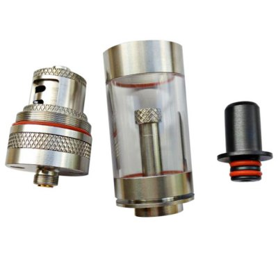 Coppervape UT V2 304 Stainless Steel RTACoppervape UT V2 304 Stainless Steel RTA<br><br>Type: Rebuildable Atomizer,Rebuildable Tanks,Tank Atomizer<br>Rebuildable Atomizer: RBA,RTA<br>Available color: Silver<br>Feature: Cleanable,Rebuildable<br>Material: Plastic,Stainless Steel<br>Tank Capacity: 2.5ml,5.0ml<br>Thread: 510<br>Overall Diameter: 22mm<br>Product weight: 0.270 kg<br>Package weight: 0.370 kg<br>Product size (L x W x H): 5.40 x 2.20 x 2.20 cm / 2.13 x 0.87 x 0.87 inches<br>Package size (L x W x H): 17.00 x 11.00 x 5.50 cm / 6.69 x 4.33 x 2.17 inches<br>Package Contents: 1 x RTA, 1 x Spare Stainless Steel Tank, 2 x Atomizer Stand, 1 x Allen Key, 1 x Pack of O-ring and Screw, 1 x Mini Kit ( 1 x Short PC Tank, 1 x Short SS Tank, 1 x Short Chimney )