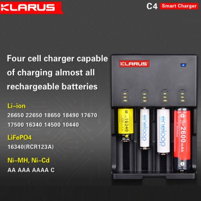 Klarus C4 Battery Charger - EU Plug