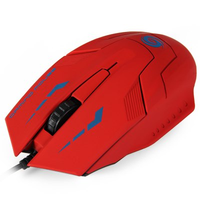 1.5m Cable 3000DPI 3D USB Wired Gaming Optical Mouse for Home Office