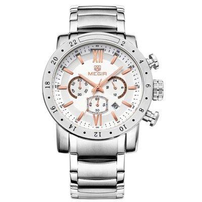 MEGIR 3008 Japan Quartz Male Watch