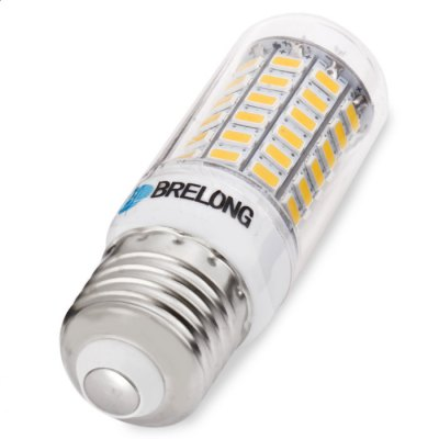 BRELONG E27 LED Corn BulbCorn Bulbs<br>BRELONG E27 LED Corn Bulb<br><br>Available Light Color: Warm White,White<br>Brand: BRELONG<br>Bulb Base Type: E27<br>CCT/Wavelength: 3000-3500K,6000-6500K<br>Emitter Types: SMD 5730<br>Features: Long Life Expectancy, Energy Saving<br>Function: Studio and Exhibition Lighting, Commercial Lighting, Home Lighting<br>Luminous Flux: 1000Lm<br>Output Power: 8W<br>Package Contents: 1 x BRELONG LED Corn Bulb<br>Package size (L x W x H): 11.00 x 4.00 x 4.00 cm / 4.33 x 1.57 x 1.57 inches<br>Package weight: 0.0680 kg<br>Product size (L x W x H): 8.00 x 2.50 x 2.50 cm / 3.15 x 0.98 x 0.98 inches<br>Product weight: 0.0330 kg<br>Sheathing Material: PC<br>Total Emitters: 69<br>Type: Corn Bulbs<br>Voltage (V): AC 220-240