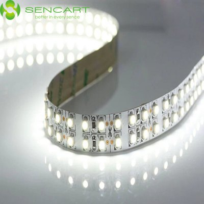 SENCART 5M Dual Row 3600LM 1200 SMD 3528 Flexible LED Ribbon Light