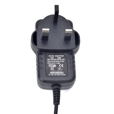 CHD - POWER 12V 1A Power Supply Adapter for LED Light Lamp and Surveillance Security Camera