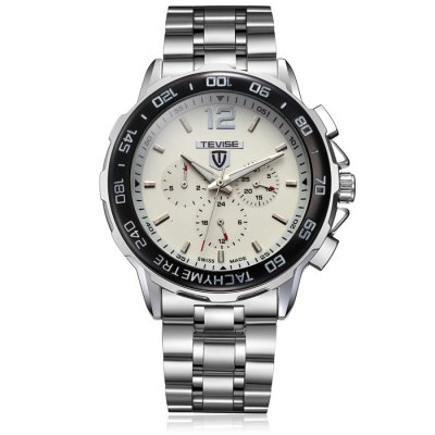Tevise 356 Date Day Display Male Automatic Mechanical Watch