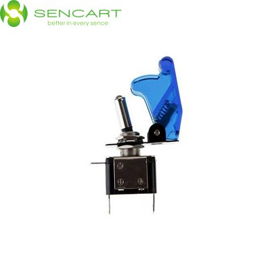 Sencart 12V 20A LED Toggle Switch for Modified Racing CarsLED Accessories<br>Sencart 12V 20A LED Toggle Switch for Modified Racing Cars<br><br>Available Light Color: White,Red,Blue,Yellow<br>Brand: Sencart<br>Car light type: Headlamp, High / Low Beam Lamp, Tail Light, Emergency Strobe Flash Light, Door lamp, Strip Light, Side Marker Light, Reversing lamp, Daytime Running Light, License Plate Light, Brake Light, Turn Signal Light, Fog Light<br>Connector: Cable Connector<br>Features: Easy to use<br>Package Contents: 1 x Car Light LED Rocker Switch<br>Package size (L x W x H): 8 x 5.5 x 4 cm / 3.14 x 2.16 x 1.57 inches<br>Package weight: 0.100 kg<br>Product size (L x W x H): 6.8 x 5 x 1.7 cm / 2.67 x 1.97 x 0.67 inches<br>Product weight: 0.038 kg<br>Sheathing Material: ABS<br>Voltage (V): DC 12