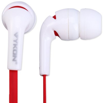 VYKON MK-300 In-Ear 3.5mm Earphone Microphone Earbud Stereo Bass Headphone for iPhone / Samsung / iPad / iPod / Laptop / Mobile PhoneEarbud Headphones<br>VYKON MK-300 In-Ear 3.5mm Earphone Microphone Earbud Stereo Bass Headphone for iPhone / Samsung / iPad / iPod / Laptop / Mobile Phone<br><br>Application: Computer, Portable Media Player, Mobile phone<br>Brand: Vykon<br>Compatible with: Mobile phone<br>Connecting interface: 3.5mm<br>Connectivity: Wired<br>Driver unit: 8mm<br>Frequency response: 20~20KHz<br>Function: Song Switching, Answering Phone, Voice control, Microphone<br>Impedance: 16ohms<br>Model: MK-300<br>Package Contents: 1 x VYKON MK-300 3.5mm Premium In-Ear Headphones, 1 x Warranty Card, 1 x Gift Box<br>Package size (L x W x H): 16 x 12 x 3 cm / 6.29 x 4.72 x 1.18 inches<br>Package weight: 0.07 kg<br>Plug Type: Full-sized<br>Product size (L x W x H): 4 x 4 x 1 cm / 1.57 x 1.57 x 0.39 inches<br>Product weight: 0.014 kg<br>Type: In-Ear<br>Wearing type: In-Ear
