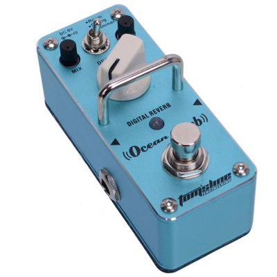 AROMA AOV - 3 Ocean Verb Digital Reverb Mini Digital Effect True Bypass