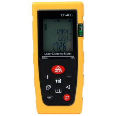 CP-40S 40 Meters Portable High Precision Laser Distance Meter with LCD Display