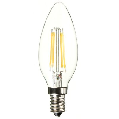 BRELONG 500LM E14 4W Dimming COB Candle LED Edison LightEdison Bulbs<br>BRELONG 500LM E14 4W Dimming COB Candle LED Edison Light<br><br>Available Light Color: Warm White,White<br>Brand: BRELONG<br>CCT/Wavelength: 2300-2700K,6000-6500K<br>Emitter Types: COB<br>Features: Retro Edison Style, Low Power Consumption, Long Life Expectancy, Energy Saving, Dimming<br>Function: Studio and Exhibition Lighting, Commercial Lighting, Home Lighting<br>Holder: E14<br>Luminous Flux: 500Lm<br>Output Power: 4W<br>Package Contents: 1 x BRELONG Edison Bulb<br>Package size (L x W x H): 15.00 x 5.00 x 5.00 cm / 5.91 x 1.97 x 1.97 inches<br>Package weight: 0.100 kg<br>Product size (L x W x H): 14.00 x 4.00 x 4.00 cm / 5.51 x 1.57 x 1.57 inches<br>Product weight: 0.055 kg<br>Sheathing Material: Glass<br>Total Emitters: 4<br>Type: Candle Bulbs<br>Voltage (V): AC 220