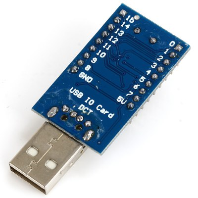 USB Control ModuleOther Accessories<br>USB Control Module<br><br>Connectors: USB<br>Mainly Compatible with: Ardunio<br>Package Contents: 1 x USB Control Module<br>Package Size(L x W x H): 10.00 x 5.70 x 1.00 cm / 3.93 x 2.24 x 0.39 inches<br>Package weight: 0.012 kg<br>Product Size(L x W x H): 5.20 x 2.20 x 1.00 cm / 2.04 x 0.86 x 0.39 inches<br>Product weight: 0.007 kg<br>Type: USB Control Module