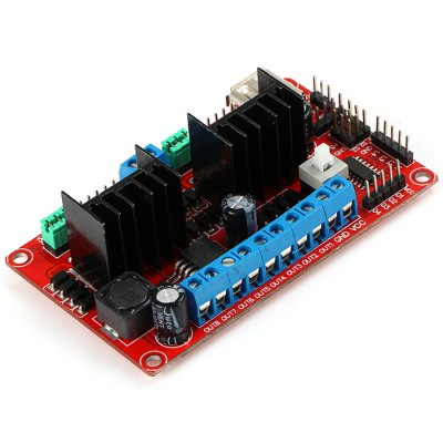 KEYES - L298N V3 4DC 2 / 3 / 4 Phase Stepper Motor / WiFi Car Drive Board
