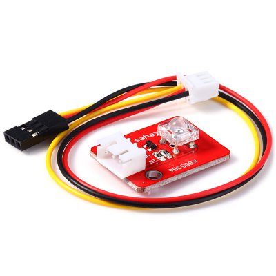 KEYES Piranha LED Sensor ModuleSensors<br>KEYES Piranha LED Sensor Module<br><br>Brand: KEYES<br>Mainly Compatible with: Ardunio<br>Package Contents: 1 x KEYES Piranha LED Sensor Module, 1 x Dupont Line<br>Package Size(L x W x H): 10.00 x 7.80 x 0.80 cm / 3.93 x 3.07 x 0.31 inches<br>Package weight: 0.012 kg<br>Product weight: 0.005 kg<br>Type: KEYES Piranha LED Sensor Module