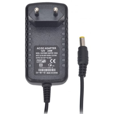CHD-POWER 12V 2A Power Supply Adapter for LED Light Lamp and Surveillance Security Camera