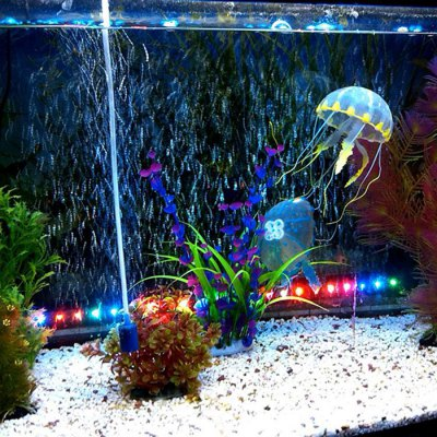 5cm Artificial Vivid Silicone Jellyfish for Fish Aquarium DecorationNovelty lighting<br>5cm Artificial Vivid Silicone Jellyfish for Fish Aquarium Decoration<br><br>Optional Color: Pink,Blue,Green,Purple,Yellow<br>Optional Size: Small size<br>Package Contents: 1 x Artificial Jellyfish<br>Package size (L x W x H): 7 x 7 x 5 cm / 2.75 x 2.75 x 1.97 inches<br>Package weight: 0.06 kg<br>Product size (L x W x H): 5 x 5 x 2.5 cm / 1.97 x 1.97 x 0.98 inches<br>Product weight: 0.010 kg
