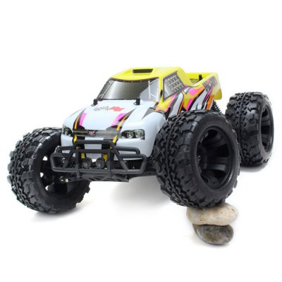 FS Racing 1/10 2.4GH 4WD RC Electrical 60A Brushless Motor TruckRC Cars<br>FS Racing 1/10 2.4GH 4WD RC Electrical 60A Brushless Motor Truck<br><br>Brand: FS<br>Drive Type: 4 WD<br>Motor Type: Brushless Motor<br>Package Contents: 1 x RC Truck, 1 x ESC, 1 x Motor, 1 x Servo, 1 x Transmitter, 1 x Battery, 1 x Charger<br>Package size (L x W x H): 59.00 x 25.00 x 35.50 cm / 23.23 x 9.84 x 13.98 inches<br>Package weight: 4.865 KG<br>Product size (L x W x H): 51.00 x 33.00 x 24.00 cm / 20.08 x 12.99 x 9.45 inches<br>Product weight: 2.450KG<br>Remote Control: 2.4GHz Wireless Remote Control<br>Type: Monster Truck