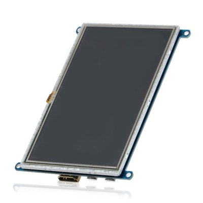 5 inch Raspberry HDMI LCD Screen Set with Holder