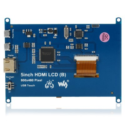 5 inch Raspberry HDMI LCD Screen Set with HolderRaspberry Pi<br>5 inch Raspberry HDMI LCD Screen Set with Holder<br><br>Mainly Compatible with: Ardunio<br>Package Contents: 1 x 5 inch Raspberry HDMI LCD Screen Set (Included Holder)<br>Package Size(L x W x H): 22.2 x 15.2 x 5.2 cm / 8.72 x 5.97 x 2.04 inches<br>Package weight: 0.396 kg<br>Product weight: 0.285 kg<br>Screen size: 5 inch<br>Screen type: LCD<br>Type: 5 inch Raspberry HDMI LCD Screen Set (Included Holder)