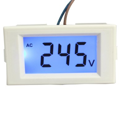 TS - D69 - 120 Practical Digital Voltage Voltmeter LCD Display ( AC 80 - 500V )