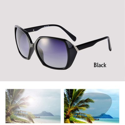 SENLAN 9504 Luxury Women Polarized Lens Anti-UV Sunglasses for Driving Camping Hiking