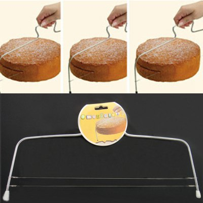 Practical Stainless Steel Cake Cutter Printing Decorative Pattern Bakeware Kitchen Mold