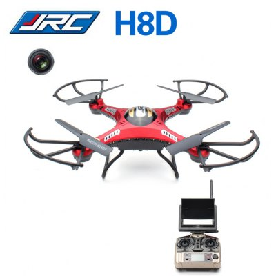 JJRC H8D 6 Axis Gyro 2.4GHz 4CH FPV RC Quadcopter with 2MP Camera / 360 Degree Eversion RTF