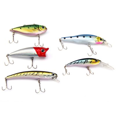 Yoshikawa Hard Fishing Lure Set