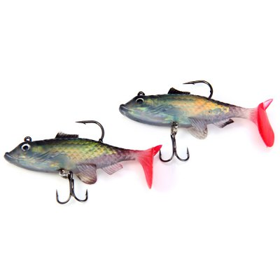 Yoshikawa Soft Fishing Bait ( NWR080 )Fishing Baits and Hooks<br>Yoshikawa Soft Fishing Bait ( NWR080 )<br><br>Color: Multi-color<br>Material: Soft Plastic, Metal<br>Package Contents: 2 x Yoshikawa 9cm / 17g Soft Fishing Lure ( NWR080 )<br>Package size (L x W x H): 16.0 x 2.0 x 13.0 cm / 6.29 x 0.79 x 5.11 inches<br>Package weight: 0.060 kg<br>Product size (L x W x H): 9.0 x 1.2 x 2.6 cm / 3.54 x 0.47 x 1.02 inches<br>Product weight: 0.017 kg<br>Style: Fish<br>Type: Soft Bait