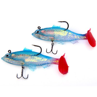 Yoshikawa 11cm / 29g Soft Fishing Bait ( NWR0100 )Fishing Baits and Hooks<br>Yoshikawa 11cm / 29g Soft Fishing Bait ( NWR0100 )<br><br>Color: Multi-color<br>Material: Soft Plastic, Metal<br>Package Contents: 2 x Yoshikawa Soft Fishing Bait<br>Package size (L x W x H): 19.0 x 2.5 x 13.5 cm / 7.47 x 0.98 x 5.31 inches<br>Package weight: 0.089 kg<br>Product size (L x W x H): 11.0 x 1.5 x 3.0 cm / 4.32 x 0.59 x 1.18 inches<br>Product weight: 0.029 kg<br>Style: Fish<br>Type: Soft Bait