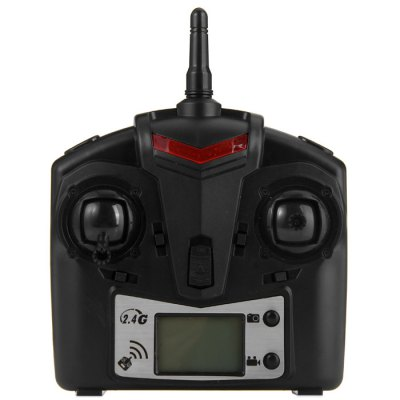 JJRC JJ - 1000 / 1000A H21 2.4G 6 Channel Transmitter with LCD Display for RC Helicopter MulticopterRC Quadcopter Parts<br>JJRC JJ - 1000 / 1000A H21 2.4G 6 Channel Transmitter with LCD Display for RC Helicopter Multicopter<br><br>Brand: JJRC<br>Package Contents: 1 x Transmitter<br>Package size (L x W x H): 15.00 x 19.00 x 6.00 cm / 5.91 x 7.48 x 2.36 inches<br>Package weight: 0.320 kg<br>Product weight: 0.195 kg<br>Type: Transmitter