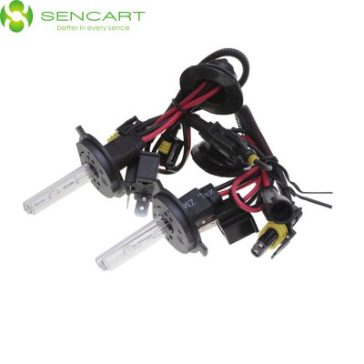 Sencart H4 P43T 3300LM 4300K HID Xenon Car Head Light ( DC 12V 2 Pcs )LED Bi-pin Lights<br>Sencart H4 P43T 3300LM 4300K HID Xenon Car Head Light ( DC 12V 2 Pcs )<br><br>Available Light Color: White,Natural White,Cold White<br>Brand: Sencart<br>Car light type: Fog Light, Daytime Running Light, High / Low Beam Lamp, Headlamp<br>CCT/Wavelength: 6000K,4300K,8000K<br>Connector: P43T, H4<br>Features: IP65 Waterproof Standard, Easy to use, High Output<br>Luminous Flux: 3300LM<br>Package Contents: 2 x Sencart HID lamp<br>Package size (L x W x H): 8.10 x 5.00 x 5.00 cm / 3.19 x 1.97 x 1.97 inches<br>Package weight: 0.183 kg<br>Product size (L x W x H): 7.10 x 4.00 x 4.00 cm / 2.8 x 1.57 x 1.57 inches<br>Product weight: 0.035 kg<br>Sheathing Material: ABS, Plastic, Glass<br>Voltage (V): DC 12<br>Wattage (W): 35