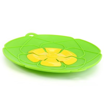 Useful Convenient Protective Silicone Anti-Boiling Pot Cover / Lib for Home Cooking House Wife