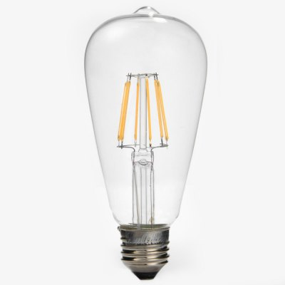 YouOKLight 6W E27 COB Edison Sapphire 6 LED Ball Bulbs Teardrop Filament Retro Light Bulb ( 3000K 580Lm AC 110V )Edison Bulbs<br>YouOKLight 6W E27 COB Edison Sapphire 6 LED Ball Bulbs Teardrop Filament Retro Light Bulb ( 3000K 580Lm AC 110V )<br><br>Angle: 270 degree<br>Available Light Color: Warm White<br>Brand: YouOKLight<br>Bulb Base Type: E27<br>CCT/Wavelength: 3000K<br>Features: Retro Edison Style<br>Function: Studio and Exhibition Lighting, Commercial Lighting, Home Lighting<br>Luminous Flux: 580Lm<br>Output Power: 6W<br>Package Contents: 1 x YouOKLight Retro Light Bulb<br>Package size (L x W x H): 16.5 x 7.5 x 7.5 cm / 6.48 x 2.95 x 2.95 inches<br>Package weight: 0.1 kg<br>Product size (L x W x H): 14.5 x 6.5 x 6.5 cm / 5.70 x 2.55 x 2.55 inches<br>Product weight: 0.055 kg<br>Sheathing Material: Glass<br>Total Emitters: 6<br>Type: Ball Bulbs<br>Voltage (V): AC 110