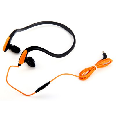 MDR-J039 Sweat Resistant 3.5mm Stereo Hand-Free Headphone for iPhone / iPod / MP3 / Tablet / Laptop Silicone Ear-Tips Outdoor Sports EarphoneSports &amp; Fitness Headphones<br>MDR-J039 Sweat Resistant 3.5mm Stereo Hand-Free Headphone for iPhone / iPod / MP3 / Tablet / Laptop Silicone Ear-Tips Outdoor Sports Earphone<br><br>Application: Sport<br>Certificate: CE<br>Color: Blue,Green,Rose,Orange<br>Connecting interface: 3.5mm<br>Connectivity: Wired<br>Driver unit: 10mm<br>Frequency response: 20~20KHz<br>Function: Waterproof<br>Impedance: 32ohms<br>Model: MDR-J039<br>Package Contents: 1 x MDR-J039 Sweat Resistance Headphone, 1 x Pair of Rubber Plug (S Size), 1 x Pair of Rubber Plug (M Size), 1 x User Manual<br>Package size (L x W x H): 21 x 14 x 5 cm / 8.25 x 5.50 x 1.97 inches<br>Package weight: 0.12 kg<br>Plug Type: Full-sized<br>Product size (L x W x H): 15 x 11 x 3 cm / 5.90 x 4.32 x 1.18 inches<br>Product weight: 0.025 kg<br>Sound channel: Two-channel (stereo)<br>Wearing type: In-ear with ear hook