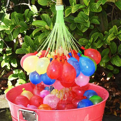 Water Balloons 111 Pcs / Set Cool Water Fight for Summer Outdoor