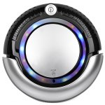 K6L 3 In 1 Mini Robot Vacuum Cleaner Set Vacuum / Sweep / Mop Two Side-brush Adjustable LED light Sensor Three Working Modes
