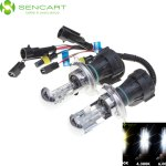 2 x SENCART H4 P43T 4300K 35W 3300LM HID Xenon Car Head Light