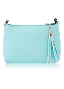 Sweet Candy Color and Tassels Design Women's Crossbody Bag