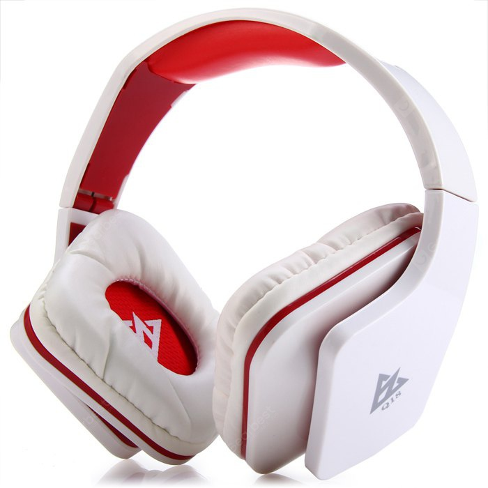 OVLENG Q18 Stereo Folding Wired Audio Headphones