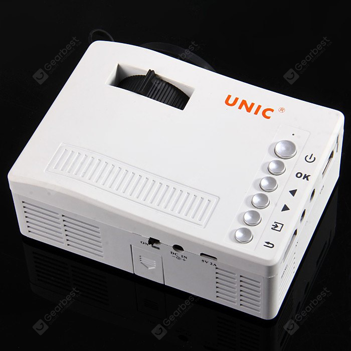 Unic uc18 mini lcd projector reviews best computers for Small lcd projector reviews