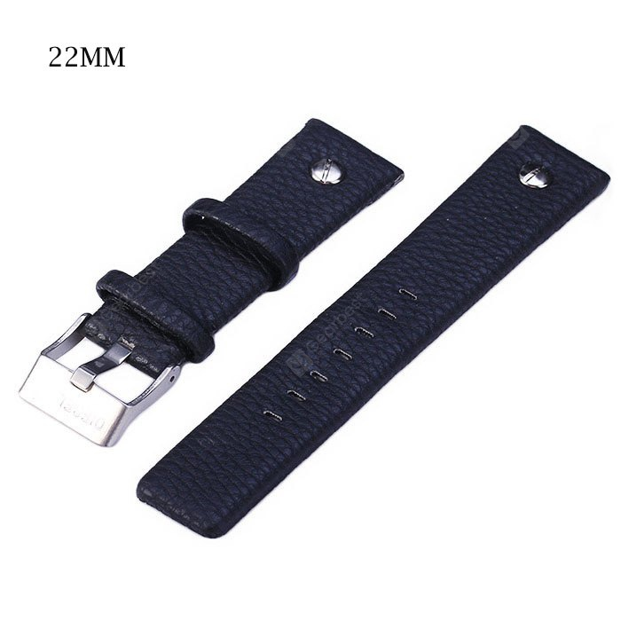 22mm Leather Band Strap for Watch