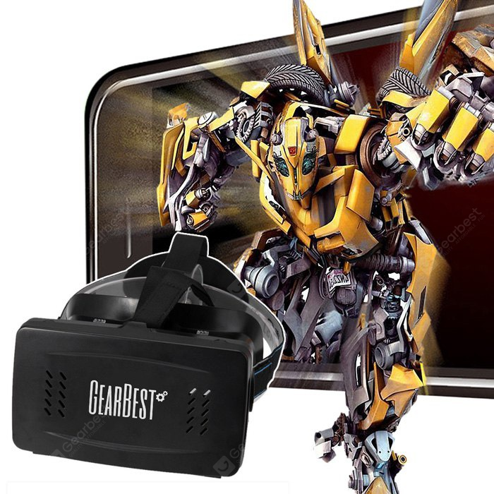 RITECH Virtual Reality 3D Glasses? with GEARBEST Logo 139796601