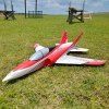 best FMS Double Vertical Tail 70mm Ducted Fan EPO Material Racing RC Airplane KIT Version