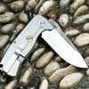 GANZO G722 - GR Small Line Locking Foldable Knife Stainless Steel Blade photo