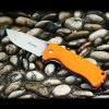 GANZO G722 - OR Small Line Locking Foldable Knife Stainless Steel Blade photo