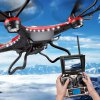 cheap JJRC H8D 6 Axis Gyro 2.4GHz 4CH FPV RC Quadcopter with 2MP Camera / 360 Degree Eversion RTF